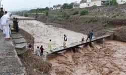 Torrential rain sets alarm bells ringing in KP low lying areas