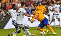 بارسلونا کو چیلسی کے ہاتھوں شکست