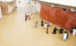 Flooding after rainfall brings miseries to masses