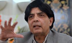 43pc decrease in target killing after Karachi operation: Nisar