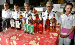 Rs25m in liquor smuggled from UAE seized