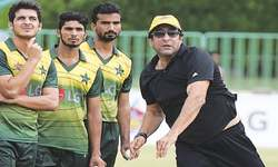 Wasim emphasises resumption of Pakistan-India series
