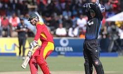 نیوزی لینڈ کو زمبابوے کے ہاتھوں اپ سیٹ شکست