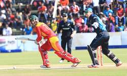 Ervine blasts Zimbabwe to 7-wicket win over New Zealand in 1st ODI