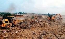 Demolition of I-11 slum completed