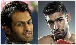 Boys will be boys: Shoaib Malik and Amir Khan unleash their inner Bajrangi