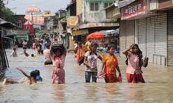 At least 180 dead, a million displaced in India floods