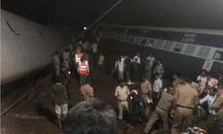 12 dead after two trains derail in India