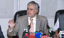 PTI, PAT sit-ins cost the country billions of rupees, claims Dar