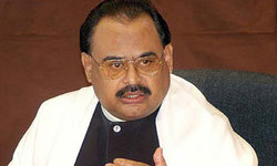 Altaf says he is not against security forces