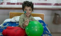 Spreading smiles in Jinnah's paediatrics ward