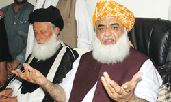 Sindh JUI-F general secretary quits post over party chief's '90' visit