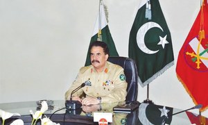 No let-up in Karachi operation: army chief
