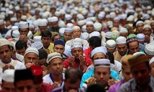 Hindu population in India drops below 80pc as Muslim ratio rises