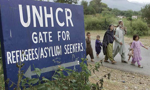 550 Afghan refugees return home