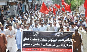 Sindh-wide protest against plan to privatise power utilities