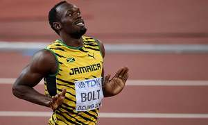 200m: Bolt crushes Gatlin to claim Beijing double