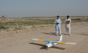 Engineering students build 'rescue drone' in Peshawar