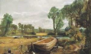 Artichive: 'Boat Building near Flatford Mill'