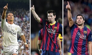 Messi pips Ronaldo, Suarez for UEFA Best Player award