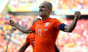 Robben replaces Van Persie as Netherlands captain