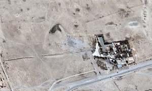 Satellite images confirm Palmyra temple destruction: UN