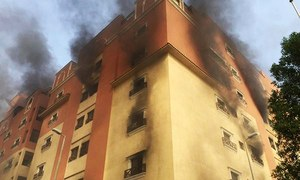 At least two dead, dozens hurt in fire at Saudi oil giant housing complex