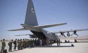Afghan airfields built for war seen as economic hubs