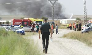 Blast at fireworks factory claims five lives in Spain