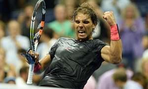US Open highlights: Nadal wins, Serena spies on Federer