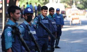 Bangladesh charges five Islamists over blogger's murder