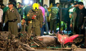 Suspect's prints match those on bomb material :Thai police