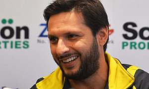 Afridi among host of stars to feature in Oval fundraiser