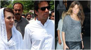 Imran Khan dismisses rumours that Jemima is out to 'smear' Reham