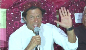 Imran invites Rangers to tackle corruption in Khyber Pakhtunkhwa