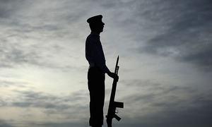 یوم دفاع پر ایک منٹ کی خاموشی