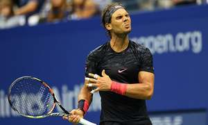 US Open: Nadal falls in five, Serena fights on
