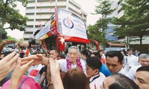 What were voters saying in Singapore general election?