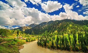 Pakistan's blue gem: Neelum Valley