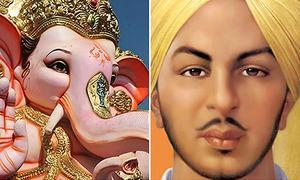 Will Ganpati bless Bhagat Singh?