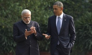 Modi thanks Obama for backing India's bid for UNSC seat