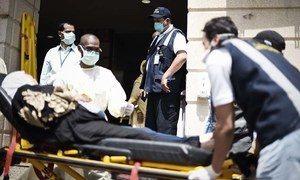 Iran says return of Haj dead delayed