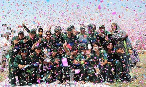 In pictures: Pakistan sweep Bangladesh T20 series