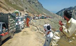 Taking the wheel on Pakistan's 'most dangerous' road