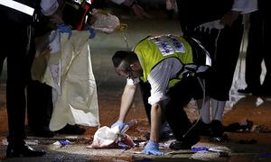 Palestinian shot dead after killing Israeli