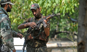 Suspected rebels kill three soldiers in India-held Kashmir