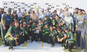 Anam, Bismah lead Pakistan to ODI series win