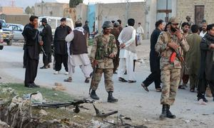 Three suspected militants killed in Balochistan's Awaran