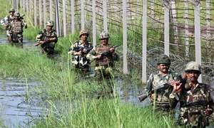 Indian Army opposes govt's plan for border embankments