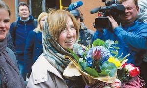 Belarussian author wins literature Nobel